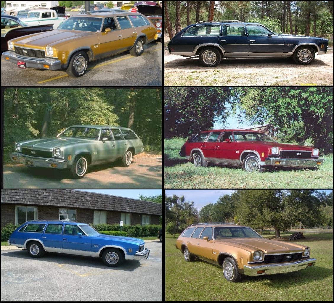 1973 : 1973 Chevelle SS Station Wagons