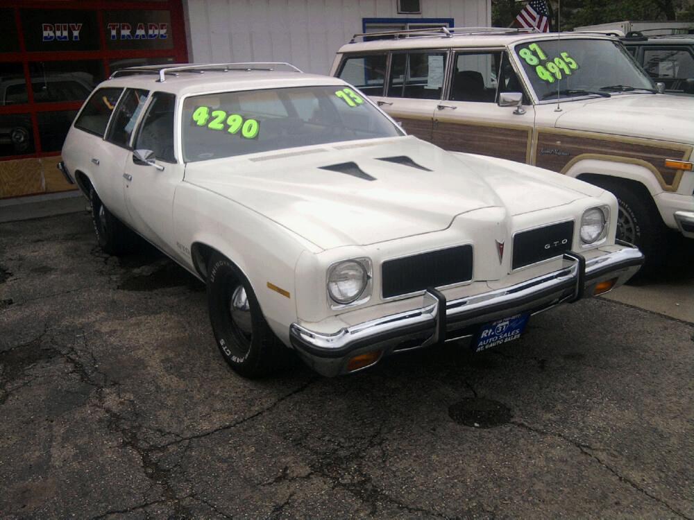 1973 1973 Pontiac Lemans Wagon Gto Clone